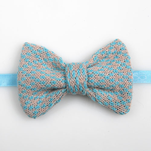 Knitted Bow Tie In Diamond Pattern on Luulla